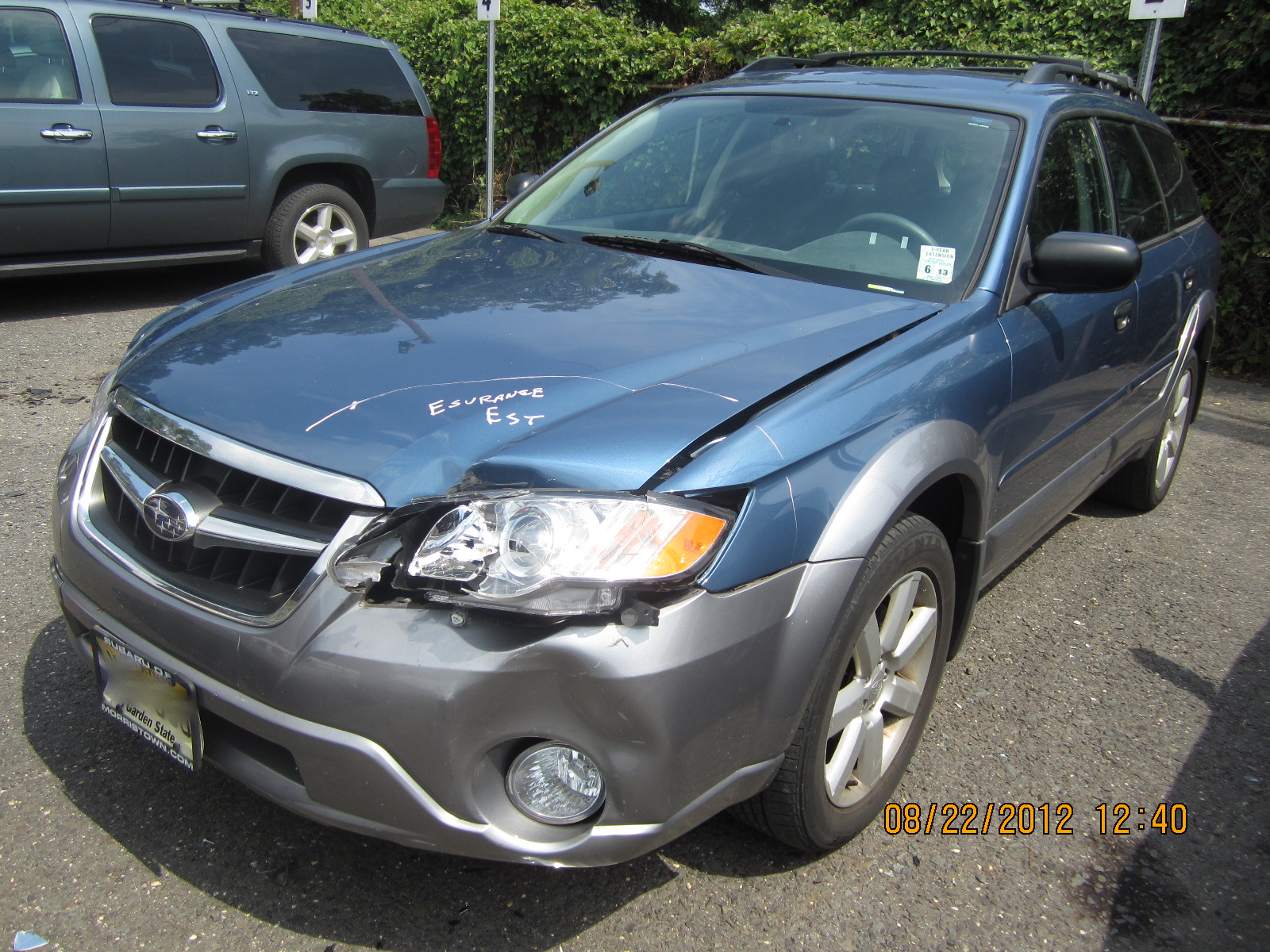2009 subaru outback before after photos auto body repair collex collision experts. Black Bedroom Furniture Sets. Home Design Ideas