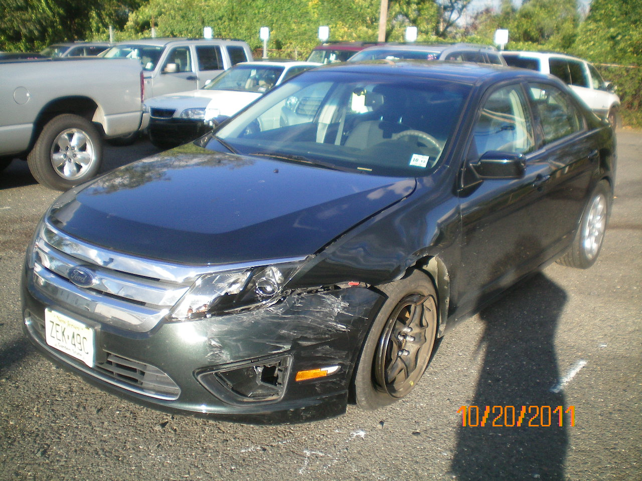 2010 ford fusion before