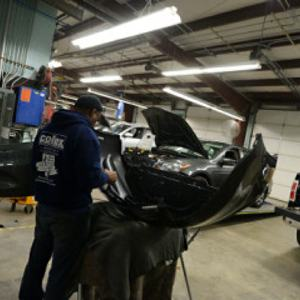 auto body repair reassembly