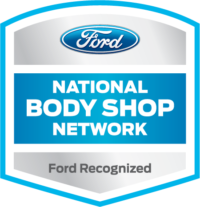 ford certified collision repair badge