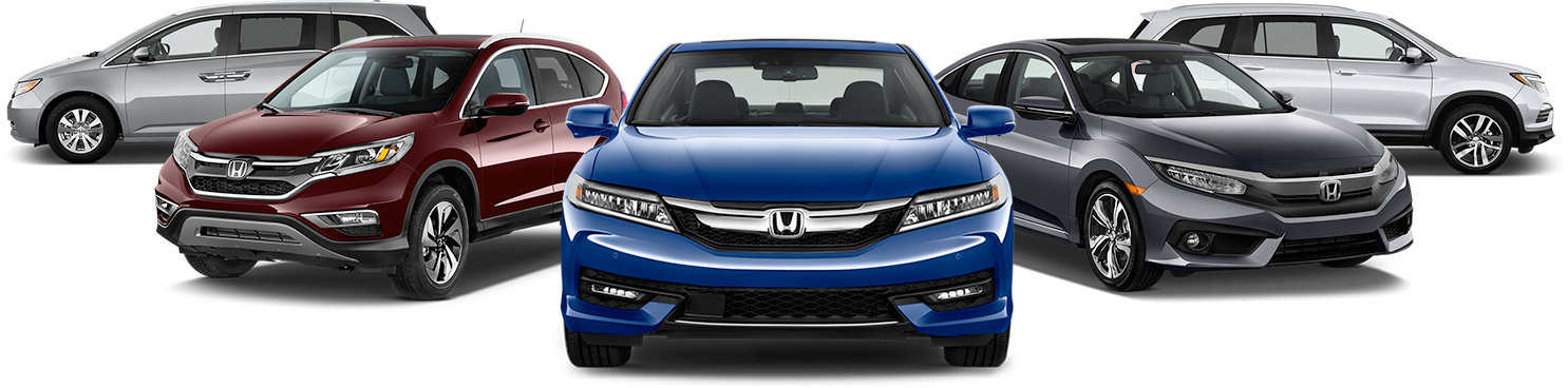 honda certified collision repair car lineup